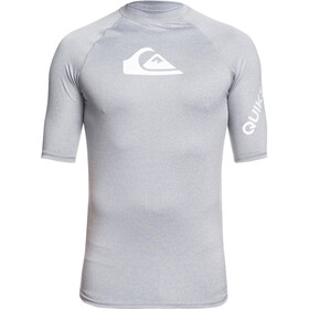 Quiksilver All Time Camiseta Manga Corta Hombre, sleet heather